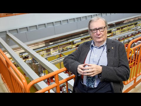Interview with Nobel laureate Carlo Rubbia about neutrino research