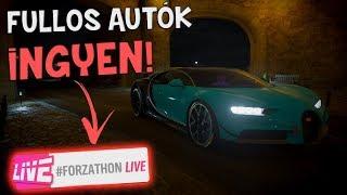 FULLOS AUTÓK INGYEN? MI IS AZ A FORZATHON LIVE!! FORZA HORIZON 4!