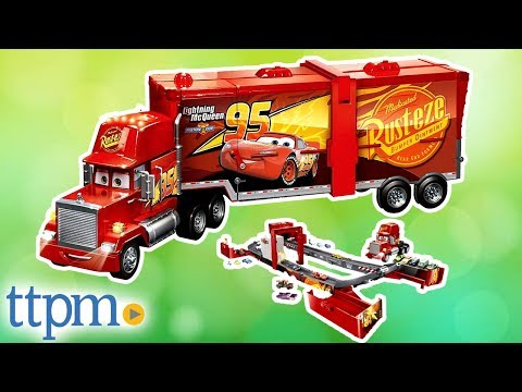 Disney/Pixar Cars Super Track Mack Playset From Mattel