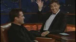 George Eads on the Late Late Show