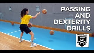 PASSING AND DEXTERITY DRILLS🏀👐🖐