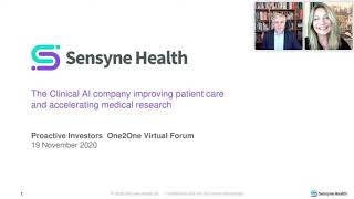 sensyne-health-present-at-the-proactive-one2one-virtual-investment-forum