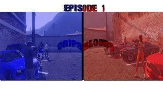 GTA 5 #DOITFORVALLEY BLOODS VS CRIPS PART 1