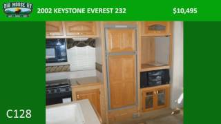 2002 KEYSTONE EVEREST 232 – C128