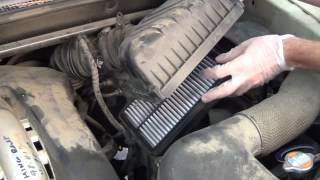 Air Filter Change KIA Sportage
