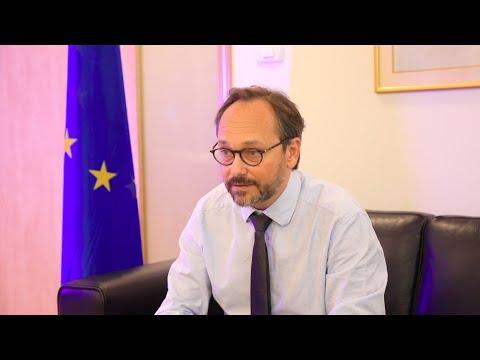 EU Amb. Emanuele Giaufret on Rosh Hashanah: 'I Wish You a Healthy New Year'