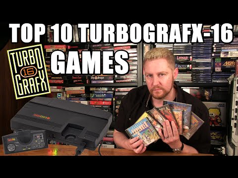TOP 10 TURBOGRAFX-16 GAMES - Happy Console Gamer