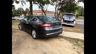 Ford Fusion - в Украину (3475$ выигрышная ставка). Авто из США 🇺🇸