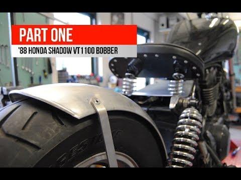 Honda Shadow VT1100 Bobber build (Part one)