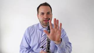 Beginner Clarinet Lesson - The First Three Notes