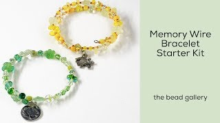 Memory Wire Bracelet For Beginners At The Bead Gallery