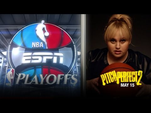 Pitch Perfect 2 - NBA Playoffs Promo (Golden State vs New Orleans) (HD)