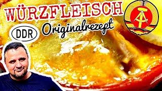 WÜRZFLEISCH wie in der DDR vom GRILL ORIGINALREZEPT !!! --- Klaus grillt