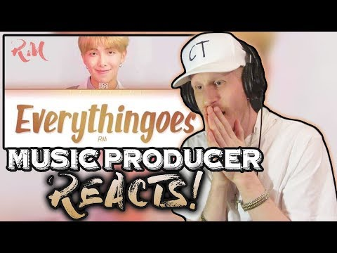 Music Producer Reacts To BTS RM - Everythingoes Ft. Nell (MONO PLAYLIST)
