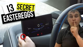 BMW i3 Hidden Features and tricks (EASTEREGGS) 🔌🔋🚗