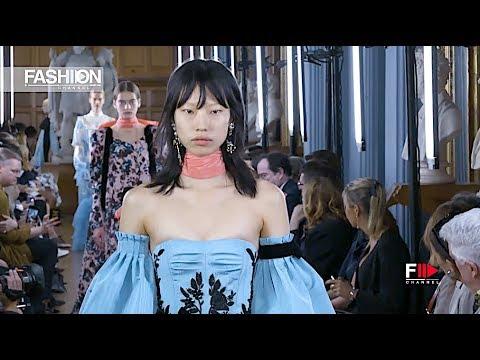 ERDEM Spring Summer 2019 London - Fashion Channel