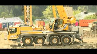 "N. Schweighofer Crane Music ""built steel"" with Liebherr LTM 1070"