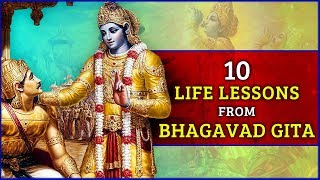 10 life changing learning facts of bhagavad gita | Bhagavad Geeta Quotes | Law of Karma | भागवत गीता