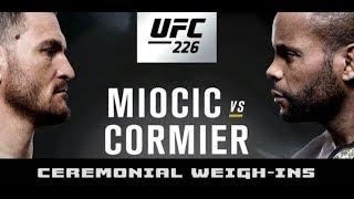 UFC 226 Ceremonial Weigh-Ins: Stipe Miocic vs Daniel Cormier