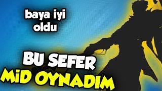 """""""BUNU BİR DE MID OYNA"""" DEDİNİZ, OYNADIM! BAYA İYİ OLDU!! ELMAS ELO DERECELİ!"""