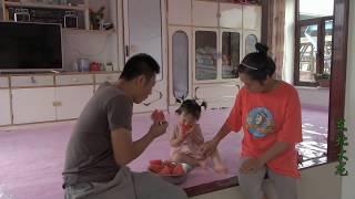 东北大龙212:小伙推着女儿去买菜,媳妇竟然还不放心,这是咋会事