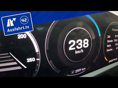 Tachovideo Porsche Taycan PerformancebatteriePlus 0-100 kmh kph 0-60 mph Beschleunigung Acceleration