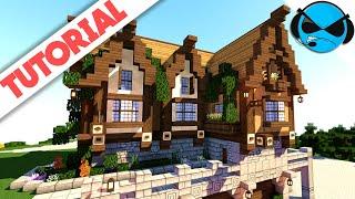 How To Build A Medieval Blacksmith Minecraft Tutorial
