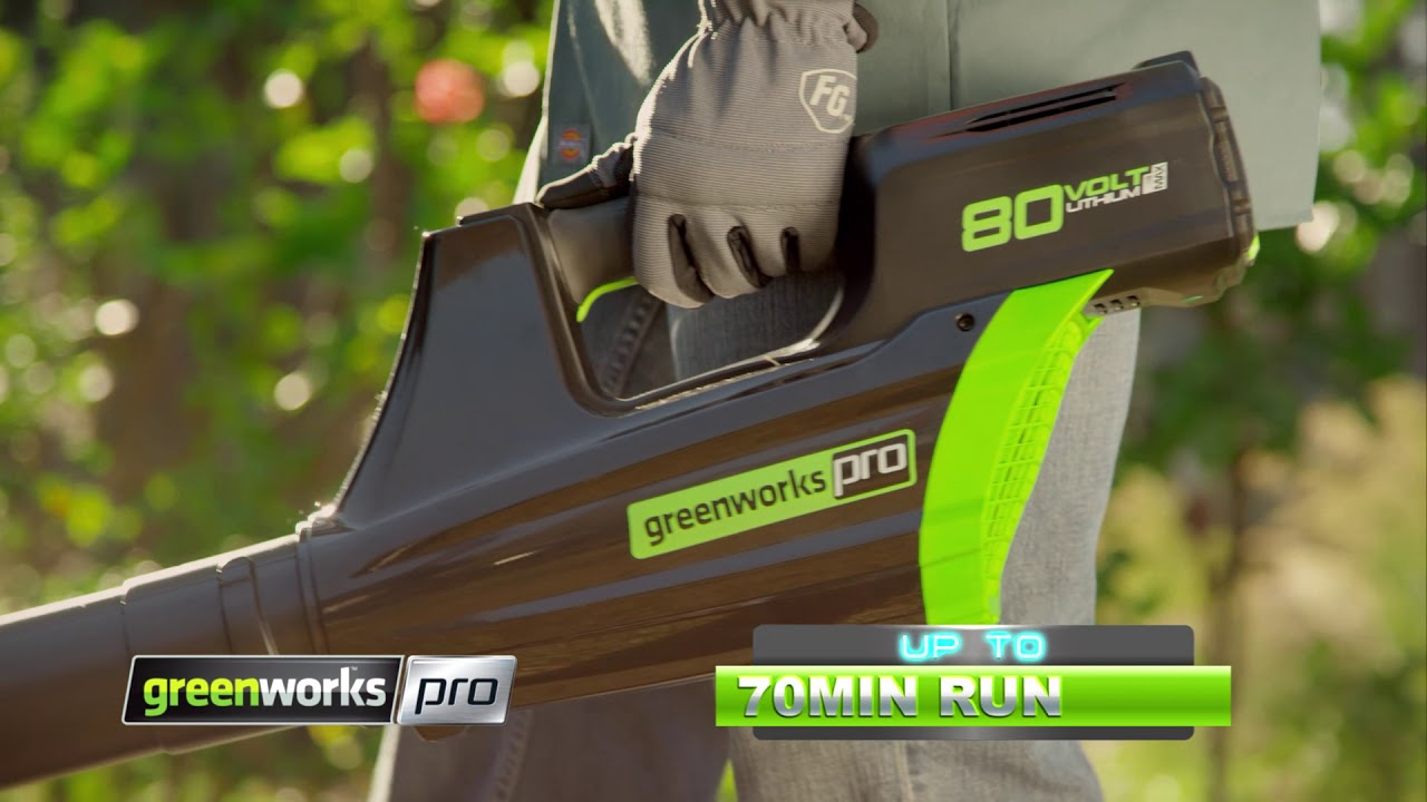Greenworks Pro - 80V Cordless Blower