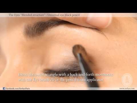 Výraznější denní líčení očí