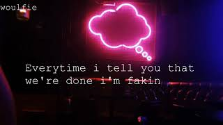 Sabrina Carpenter  I'm Fakin (lyrics)