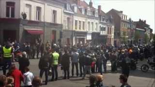 preview picture of video 'bénédiction des motards Béthune 2013 motartois'