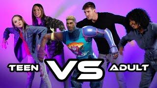 Teen Vs Adult Fortnite Dance Challenge thumbnail