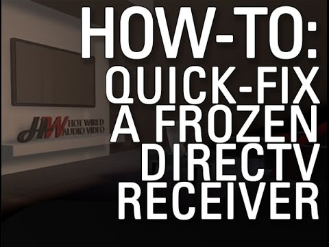 How to Restart DirecTV Box