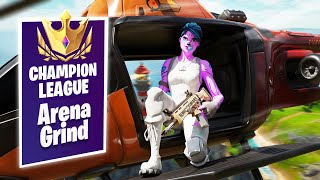 🔴 ARENA GRIND! Season 5 Winning In Solos - 3700 Solos Wins (Fortnite Battle Royale)
