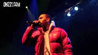 Drake & Chris Brown - A Night Off Remix - Live