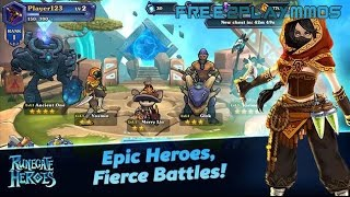 Runegate Heroes Gameplay Android / iOS
