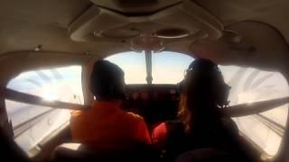 IFR flight from KVNY to KTOA in a multi-engine Piper PA-44 Seminole