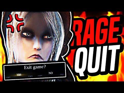 I rage quit Bloodborne... - Bloodborne Rage Montage 15