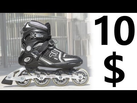 10 $ Used INLINE SKATES !! Are They Good? Ft. FILA Master Wave