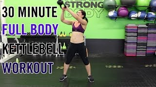 30 Minute KILLER Kettlebell Workout | Full Body Burn! by Kat Musni Fitness