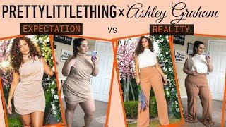 Ashley Graham X Pretty Little Thing 2019 Plus Size Haul & Review | Sarah Rae Vargas