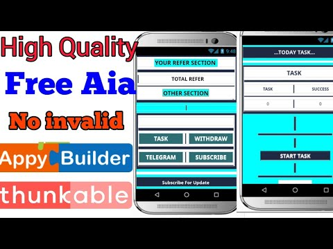 Free Aia File High Quality - Appybuilder & Thunkable - Insaf TV 24