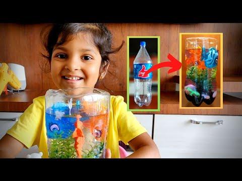 Plastic bottle craft ideas | Plastic bottle Aquarium | Recycle Plastic Bottles