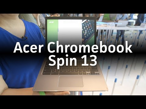 Acer Chromebook Spin 13: A Chromebook aimed at business users