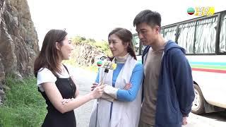 娛樂新聞台 降魔的探班 馬國明表示努力工作! 馬國明 黃智雯 C君 譚凱琪