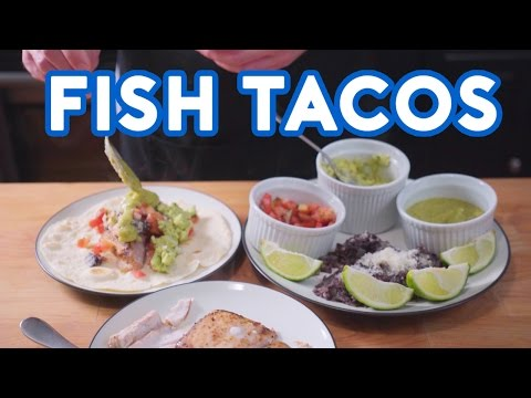 Binging with Babish: Fish Tacos from I Love You