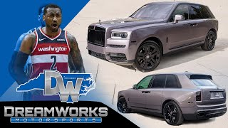 Custom Rolls Royce Cullinan for John Wall of Washington Wizards