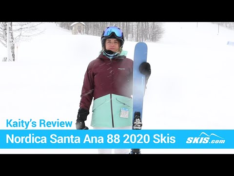 Video: Nordica Santa Anna 88 Skis 2020 11 50