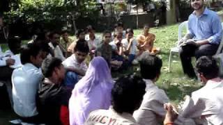 <b>Adharshila</b> NGO  Students Interact With British Council Expert