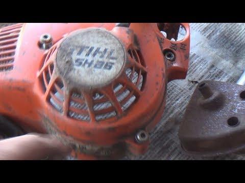 пылесос наоборот ремонт stihl 86